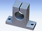 ES-A series Round Rail Aluminum End Support Block